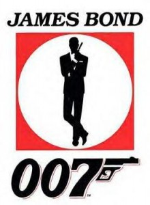 thiết kế logo james bond
