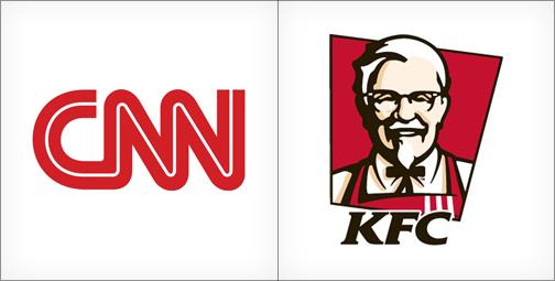 thiết kế logo màu đỏ