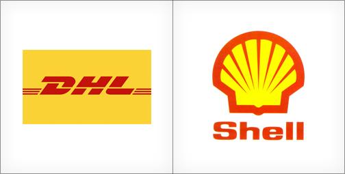 Thiết kế logo màu vàng