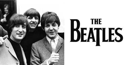 thiết kế logo the beatles