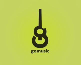 thiet ke logo gomusic