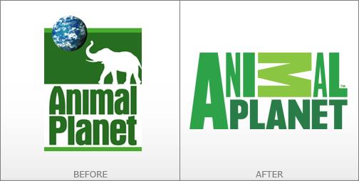 thiết kế logo animal planet