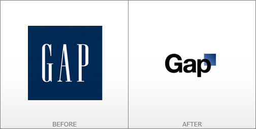 logo mới của gap