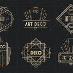Thiết kế logo phong cách Art Deco