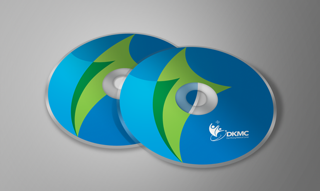 thiết kế nhãn đĩa
