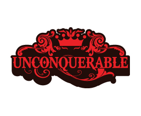 thiet ke logo the thao unconquerable