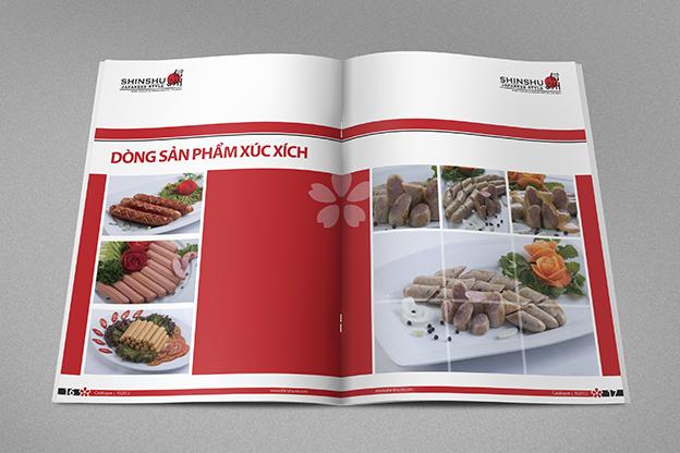 thiết kế catalog shinshu 6