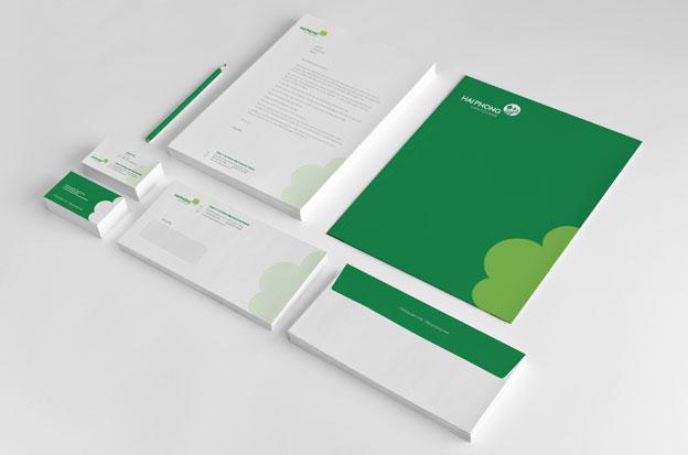 Thiết kế logo cây cảnh - Thiết kế nhận diện thương hiệu HaiPhong 15