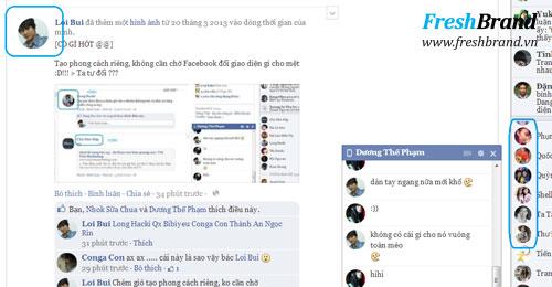 huong dan thay doi giao dien facebook