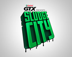 Castrol GTX Sludge City logo