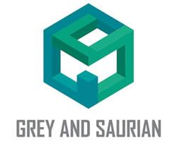 Grey Saurian logo