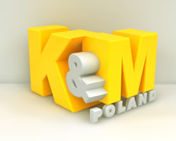 K And M 3d Bazinga Designs logo