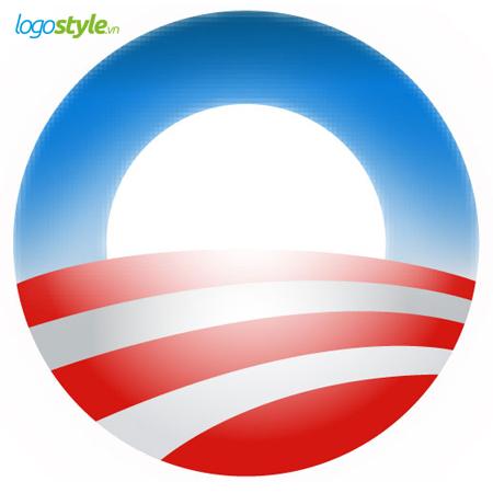 logo hinh tron obama 08