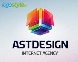 thiet ke logo 3d dep astdesign