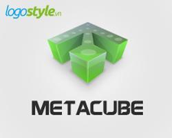 thiet ke logo 3d metacube