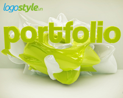logo 3d portfolio