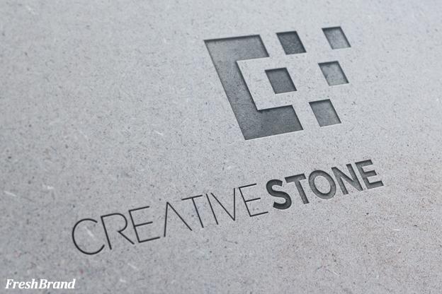 thiet ke logo da creative stone 2