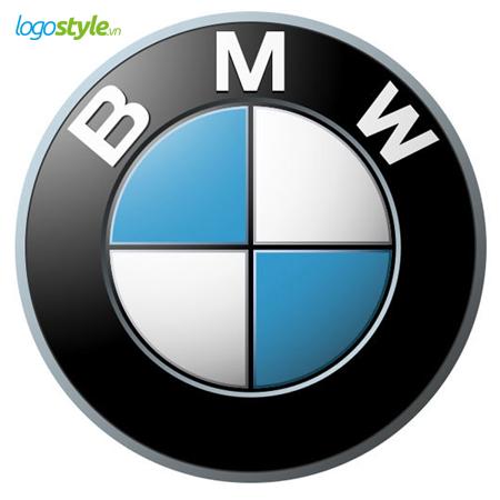 thiet ke logo hinh tron bmw