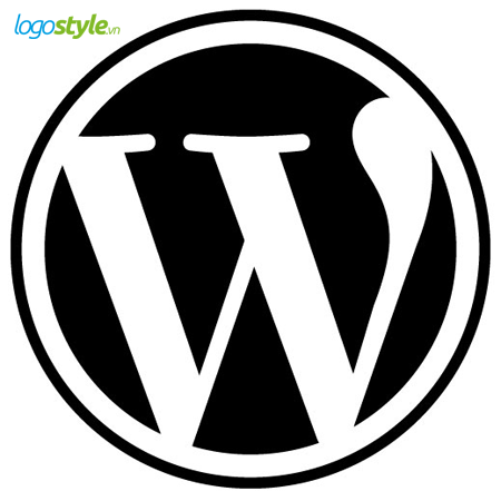 thiet ke logo hinh tron wordpress