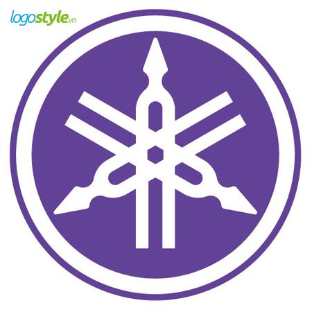 thiet ke logo hinh tron yamaha