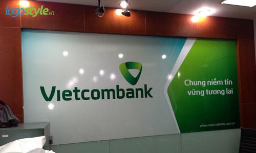 thiet ke logo vietcombank