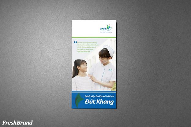thiet ke brochure benh vien duc khang 2