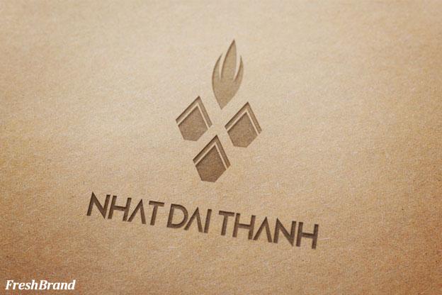 thiet ke logo thuc pham nhat dai thanh 1b