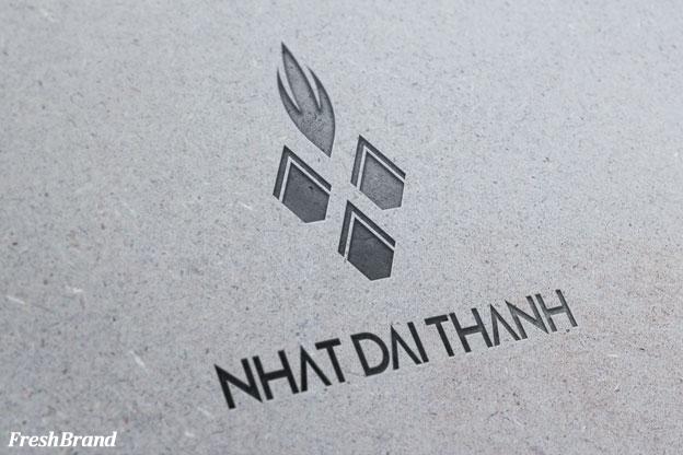thiet ke logo thuc pham nhat dai thanh 2