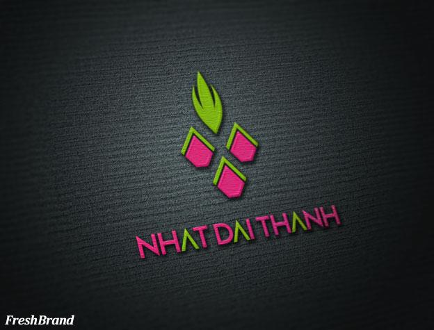 thiet ke logo thuc pham nhat dai thanh 3