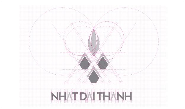 thiet ke logo thuc pham nhat dai thanh 4a
