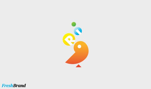 thiet ke logo thuong hieu Ri 7