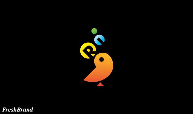 thiet ke logo thuong hieu Ri 9
