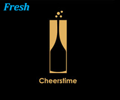thiet ke logo hinh chai ruou 27