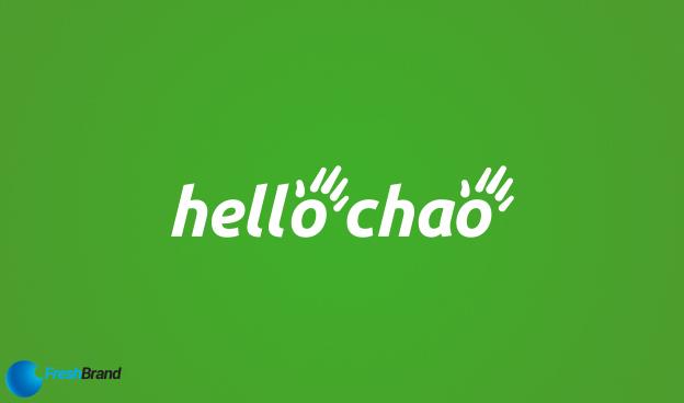 thiet ke logo nhan dien thuong hieu hello chao 10