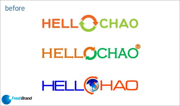 thiet ke logo nhan dien thuong hieu hello chao 1