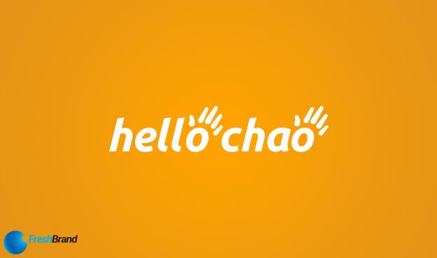 thiet ke logo nhan dien thuong hieu hello chao 11