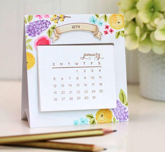 Tự tay thiết kế lịch