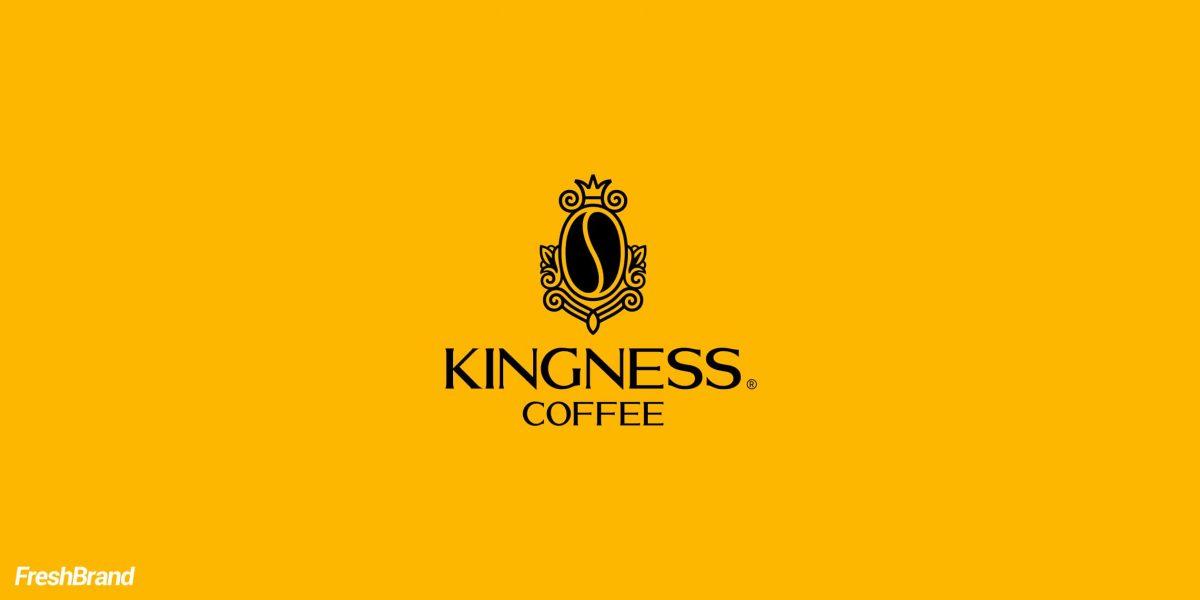 Thiết kế logo nhãn hiệu Kingness Coffee