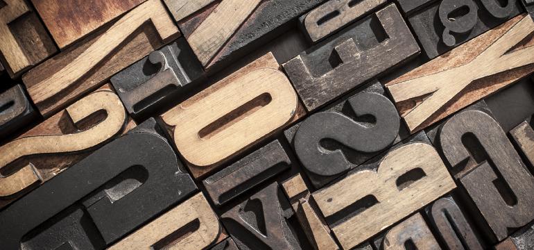 Lựa chọn phông chữ trong thiết kế logo