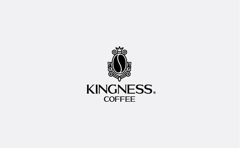 Logo thương hiệu cafe kingness